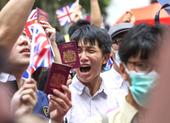 Anh mở đường cấp quyền công dân cho người Hong Kong