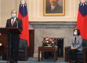 Bộ trưởng Mỹ gặp lãnh đạo Đài Loan Thái Anh Văn