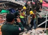Vụ sập nhà 7 tầng ở Campuchia: Số thương vong tăng lên 59