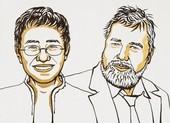 Nobel Hòa bình 2021 vinh danh hai nhà báo - Philippines và Nga