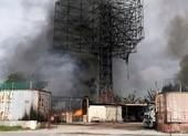 Cháy lớn tại khu kho bãi xăng dầu ở Hải Phòng
