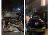 Lái xe gây tai nạn ở phố đi bộ Hải Phòng có nồng độ cồn