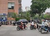 Cướp nổ súng, lấy hàng trăm triệu ở ngân hàng BIDV tại Hà Nội