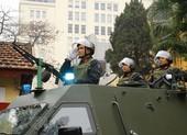 Công an Hà Nội ra quân bảo vệ Đại hội Đảng
