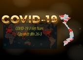 COVID-19 ở Việt Nam: Cập nhật đến 26-3, 8 nơi có diễn biến mới