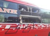 Xe khách giường nằm chạy Phan Thiết - TP.HCM bị ném đá