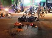 Nghi trộm chó phóng xe vào người đi đường ở Bình Tân