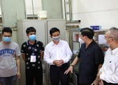 Đắk Lắk:Thăm hỏi lực lượng phòng chống dịch ở khu cách ly