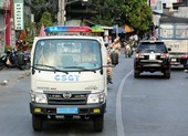 CSGT dùng xe tuần tra chở sản phụ sinh non đi cấp cứu
