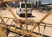 Bình Dương: Cẩu tháp đổ sập, 3 công nhân chết tại chỗ
