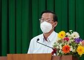 Chủ tịch Phan Văn Mãi: TP.HCM sẽ dùng quỹ vaccine để mua và tiêm cho trẻ em