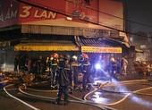 Quận 8: Cháy sạp bán vàng mã ở chợ Nhị Thiên Đường