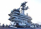 Mở tiệc chiêu đãi trên tàu sân bay USS Carl Vinson