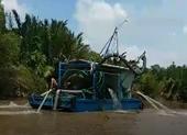 TP.HCM: Bắt đầu 'chặt' vòi bạch tuộc cát tặc trên sông