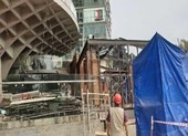Đà Nẵng cưỡng chế nhà hàng xây trái phép sát sông Hàn
