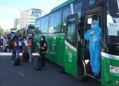 Hơn 700 người bị kẹt tại tâm dịch Đà Nẵng trở về quê