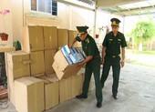 Bắt vụ buôn lậu khẩu trang bằng đường thủy sang Campuchia
