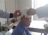 Sửa máy xay lúa, người phụ nữ bị lóc hết da đầu
