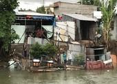 Lại sạt lở ở An Giang, 15 nhà dân phải di dời