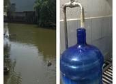 Thu hồi nước đóng bình Vimass làm từ nguồn nước mương