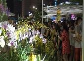 Cận cảnh đông đảo người đến xem đường hoa Canh Tý