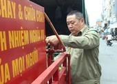 Tự sắm xe chữa cháy để giúp dân
