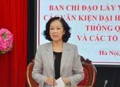 Từ 15-10, lấy ý kiến góp ý dự thảo văn kiện Đại hội Đảng