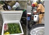 CSGT TP.HCM giữ quyết định phạt vụ 'đi nhận thùng rau'