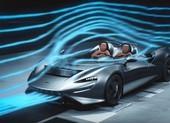 McLaren mui trần chạy tốc độ cao không làm bay tóc lái xe