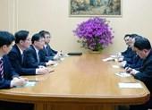 Ông Kim Jong-un đãi tiệc tối phái đoàn Hàn Quốc