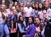 Ông Putin đứng lớp giảng bài cho học sinh Nga