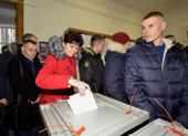 Hôm nay người Nga đi bầu tổng thống