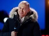 Chiến thắng áp đảo, ông Putin cảm ơn người ủng hộ