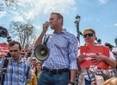 Nga bắt lãnh đạo đối lập Navalny biểu tình trái phép