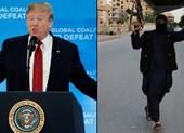 Ông Trump dọa thả 800 tay súng IS ra châu Âu