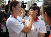 Cuộc chia tay thấm đẫm nước mắt của đội bóng rổ liên Triều