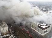Cháy kinh hoàng trung tâm mua sắm Nga: 40 trẻ mất tích