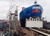Nga hạ thủy một trong ba tàu phá băng lớn nhất thế giới