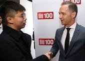 Hoàng Chi Phong gặp ngoại trưởng Đức