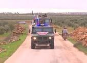 Quân cảnh Nga bắt đầu tuần tra gần biên giới Syria-Thổ Nhĩ Kỳ