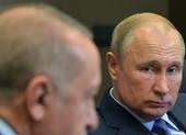Ông Erdogan nói ông Putin tránh đường, để Ankara đối mặt Syria