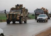 35 xe quân sự Thổ Nhĩ Kỳ vượt biên tiến vào Idlib - Syria