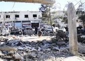 Cảnh tượng Damascus sau khi Israel nã tên lửa