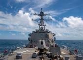 Mỹ lại điều tàu khu trục đến eo biển Đài Loan