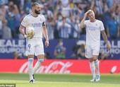 Real Madrid trượt dài với trận thứ ba liên tiếp không thắng