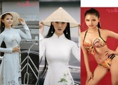 Nguyễn Thùy Dương nữ sinh Luật tóc dài 1m thi Hoa hậu Việt Nam