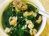 Nhớ thời rau má nấu canh ăn giải bữa