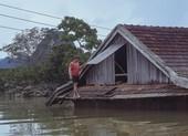 Dân vùng lũ Quảng Bình co ro chờ nước rút