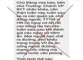 Bộ Y tế bác tin đồn Hà Nội có nguy cơ bùng phát dịch COVID-19