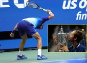 Clip Medvedev hủy diệt giấc mơ 'ăn 4' của Djokovic